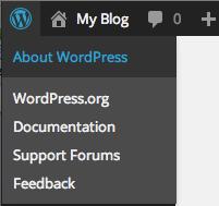 About WordPress 3.8