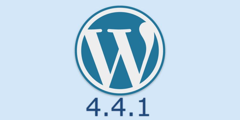 WordPress 4.4.1 Made Public