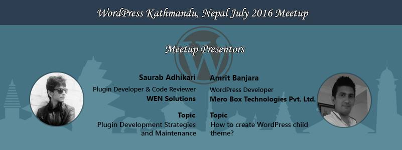 WordPress Kathmandu, Nepal July 2016 Meetup Concluded