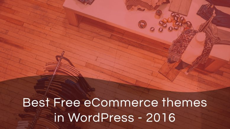 best free eCommerce themes in WordPress