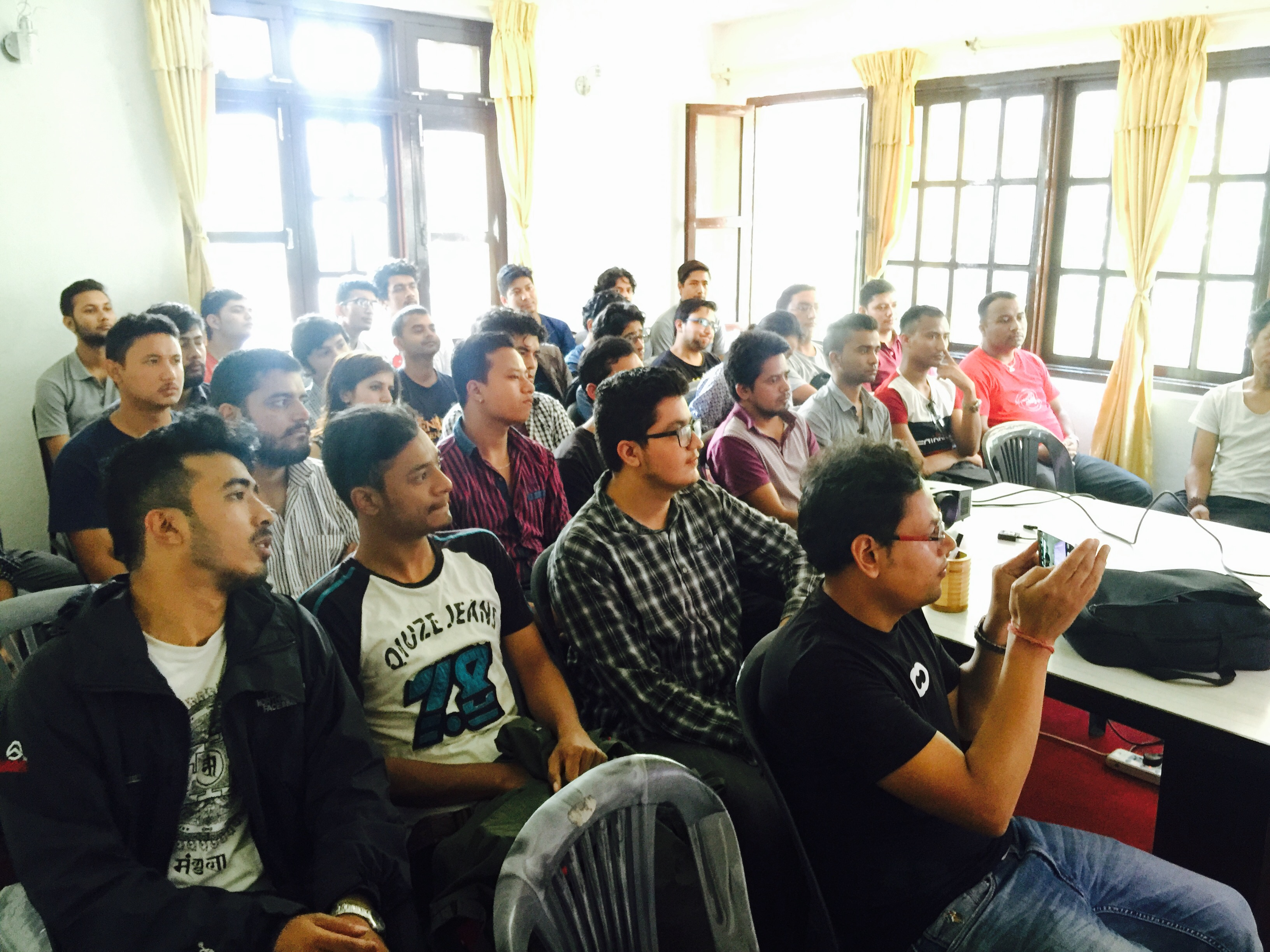 WordPress Kathmandu, Nepal August 2016 Meetup Held