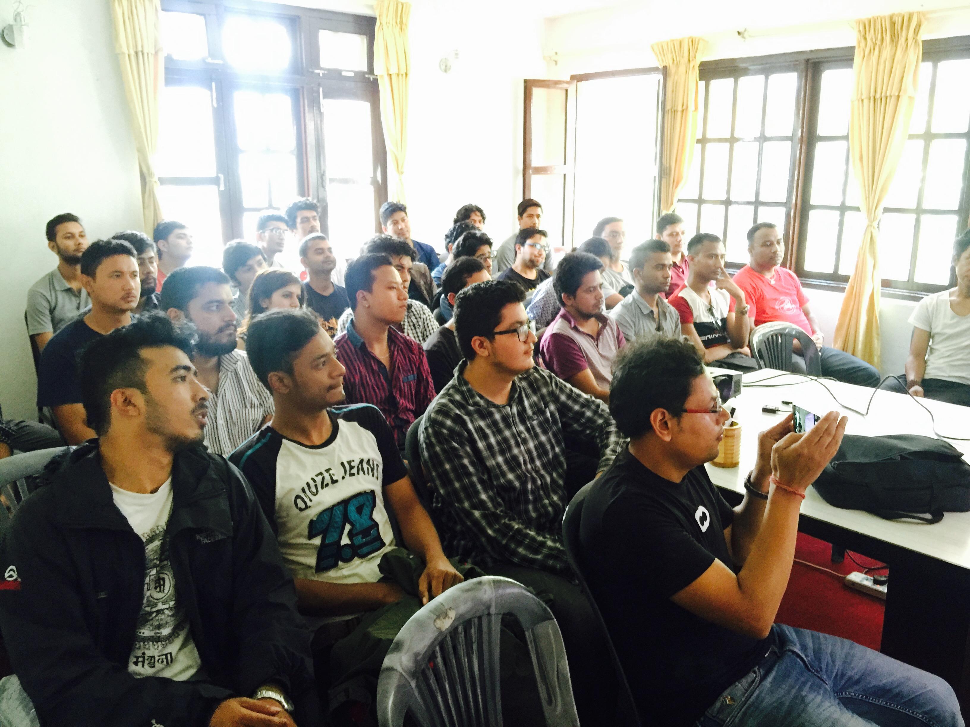 WordPress Kathmandu, Nepal August 2016 Meetup Held