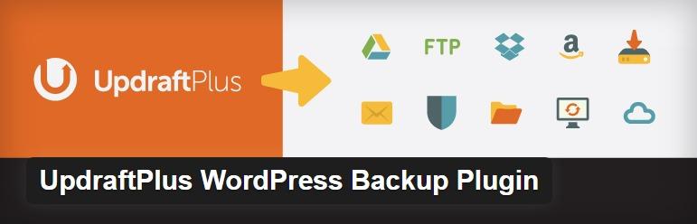Best Plugins to Back up WordPress sites - UpdraftPlus
