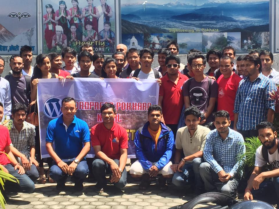 WordPress Pokhara 2016 August Meetup ends with the promise of a new WordCamp