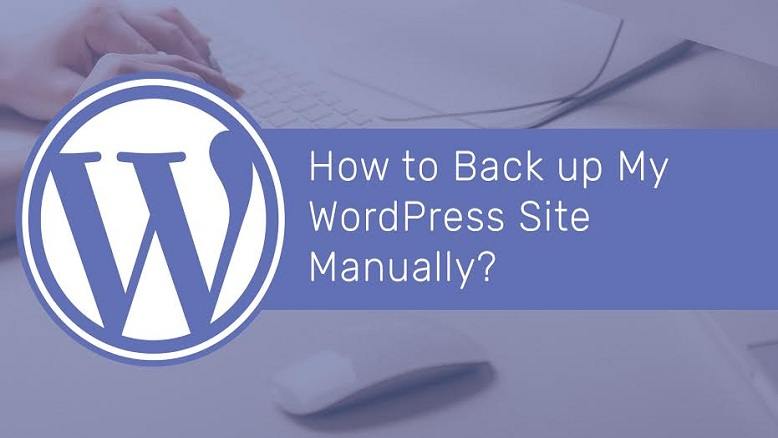Back up a WordPress Site Manually?