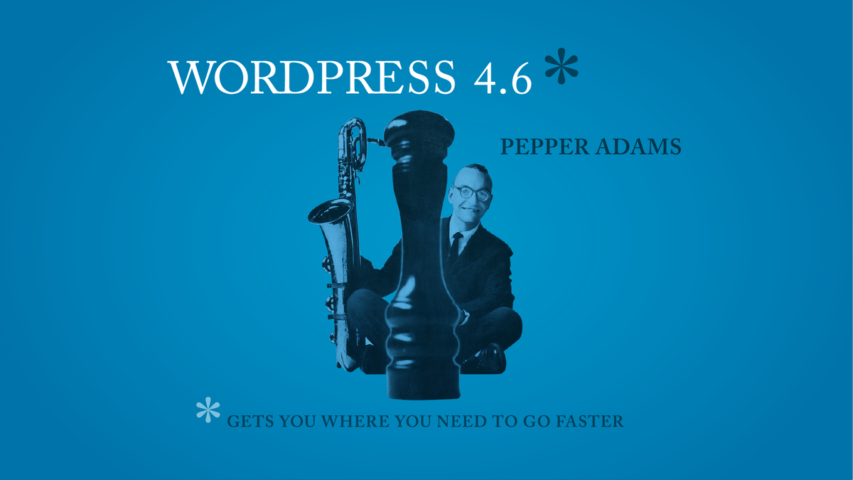 WordPress 4.6: The New Version of WordPress Arrives With a Slew of New Features