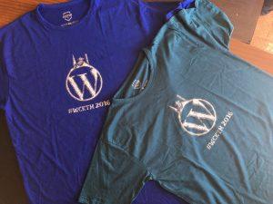 WordCamp Kathmandu T-shirts