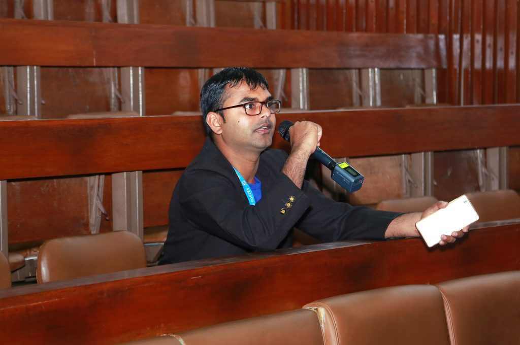 Kishor Kumar Mahato at WCKTM 2016