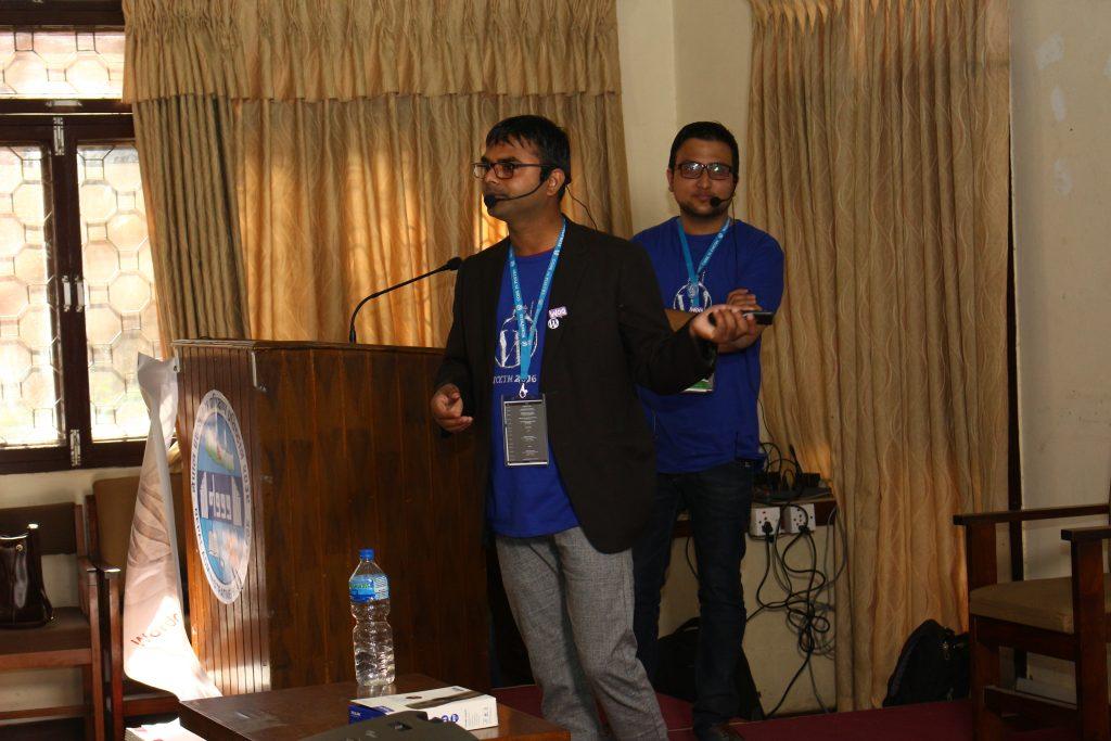 Kishor Kumar Mahato and Abiral Neupane