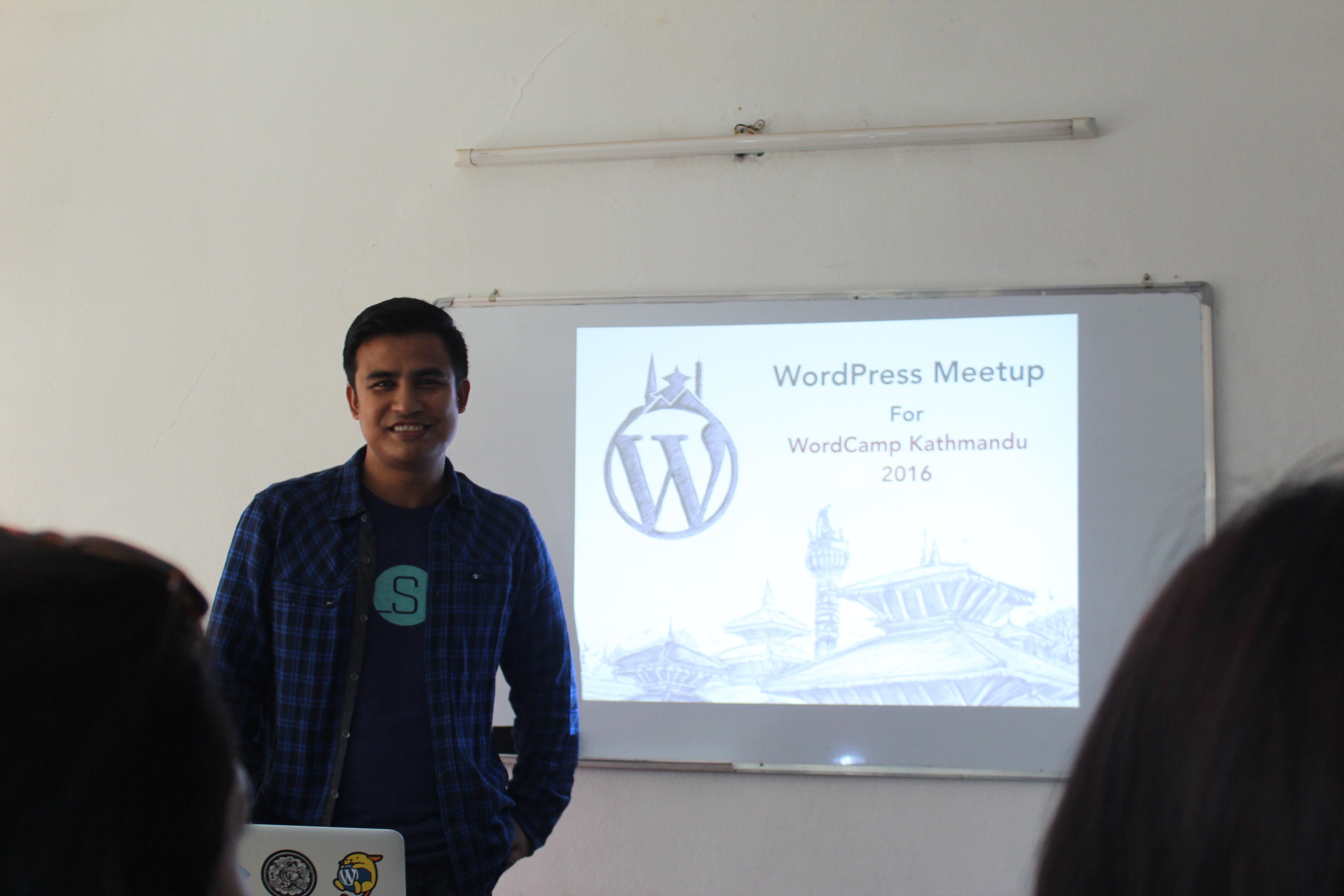 Sakin's presentation