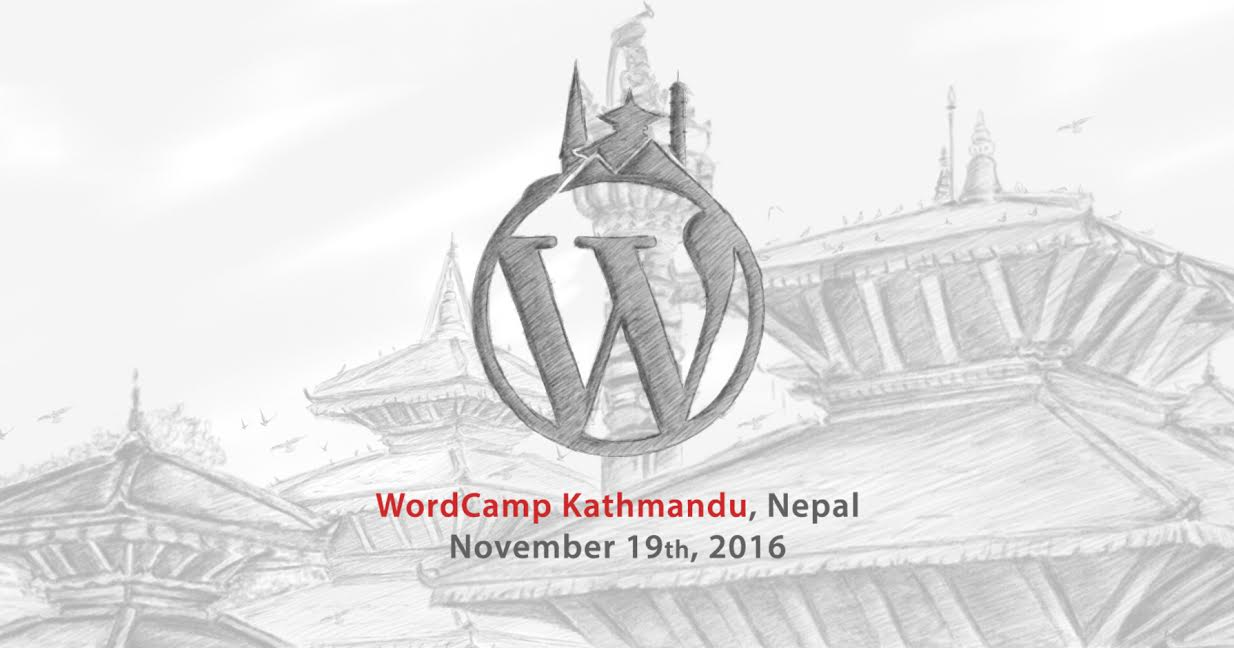 The Final Stage is Set: WordCamp Kathmandu 2016