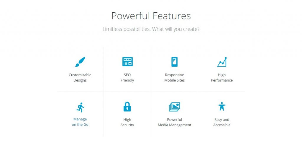 Powerful features of WordPress