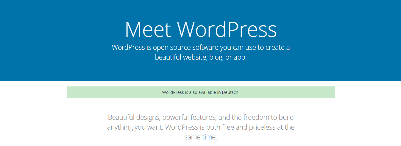 WordPress.org Homepage to Get a New Look