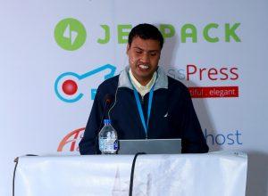 Sushil Adhikari at WCKTM 2016
