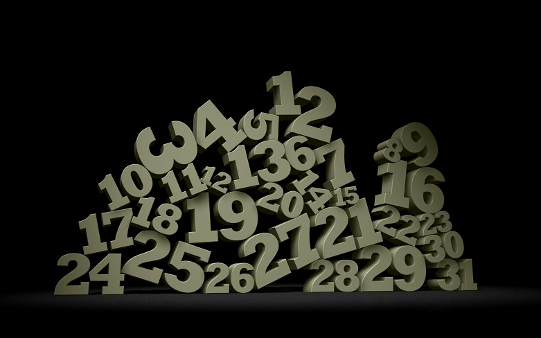 A bunch of numbers