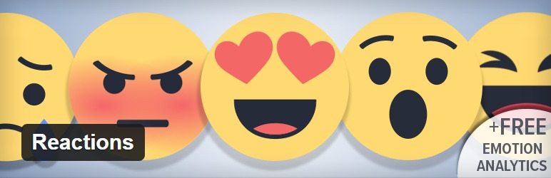 Reactions - A plugin to add Facebook like reactions to WordPress