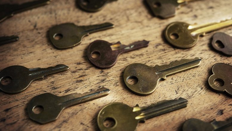 WordPress 4.7.2 Security Release (In the Image: Keys on a Table)