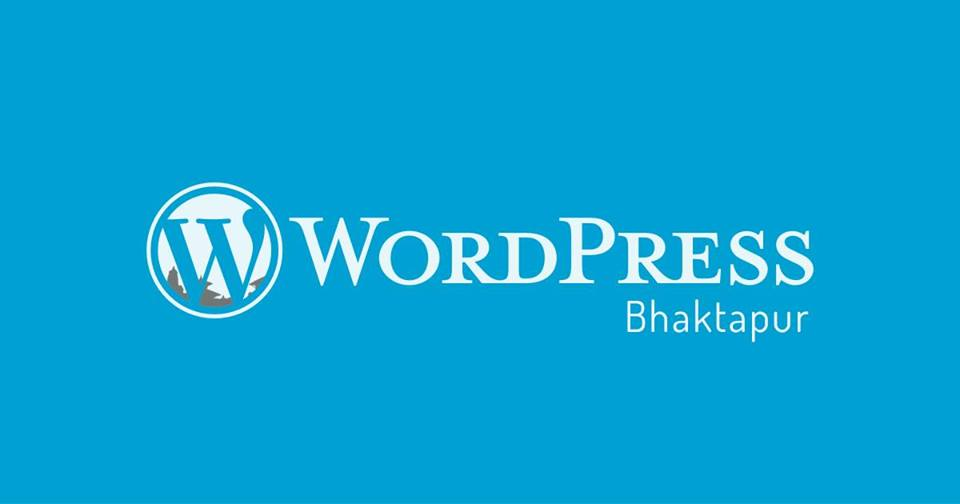 WordPress Bhaktapur Hackathon Banner