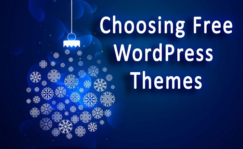Choosing Free WordPress Themes