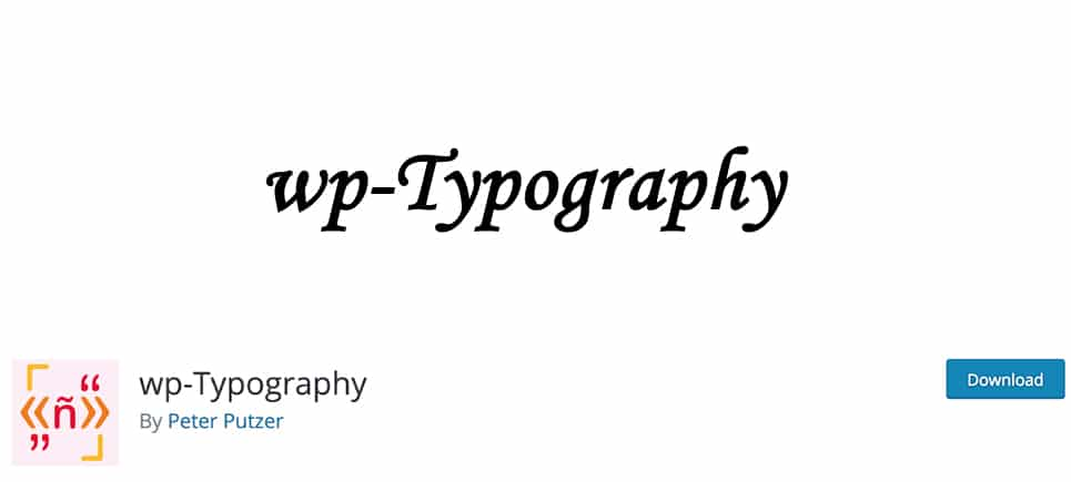 wp-typography