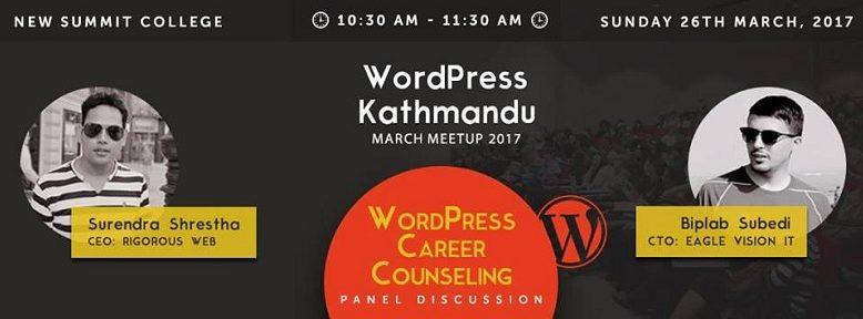 WordPress Kathmandu March Meetup 2017