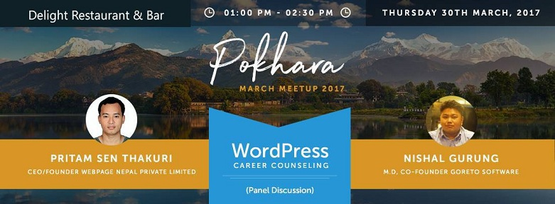 WordPress Pokhara March Meetup 2017