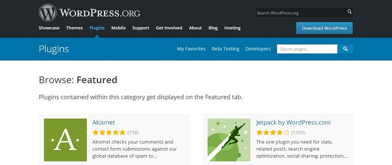 New WordPress Plugin Directory
