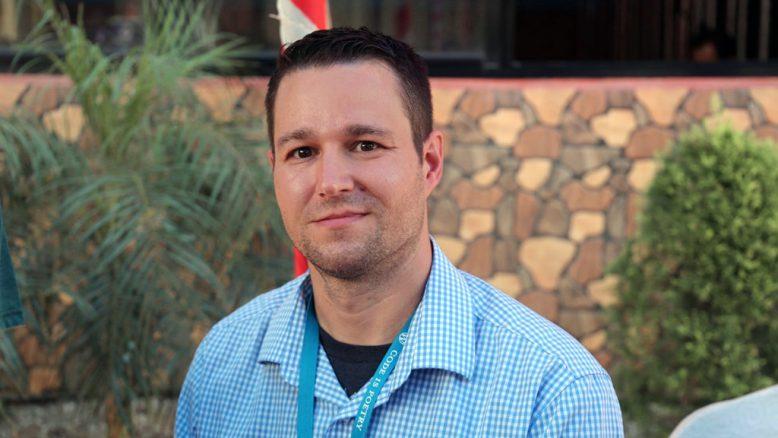 Rich Collier at WordCamp Kathmandu 2017