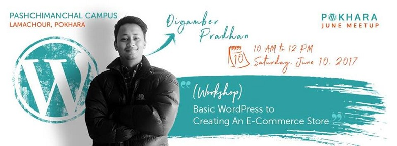 WordPress Pokhara June Meetup 2017 is Next Week!