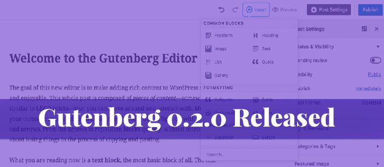Gutenberg 0.2.0 released