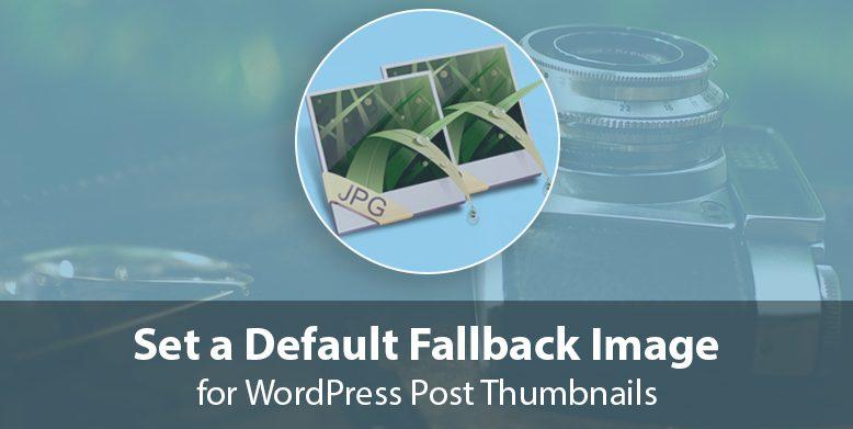 Set a default Fallback image