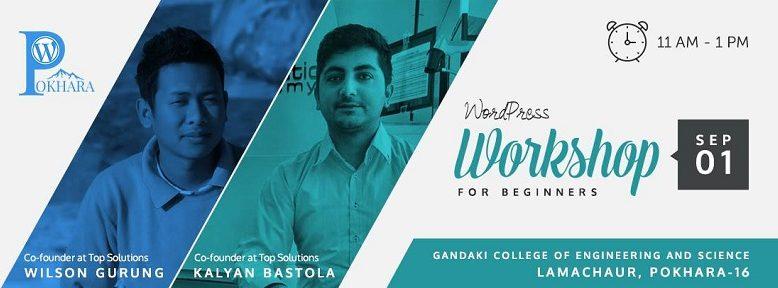 WordPress Pokhara September Meetup 2017 banner