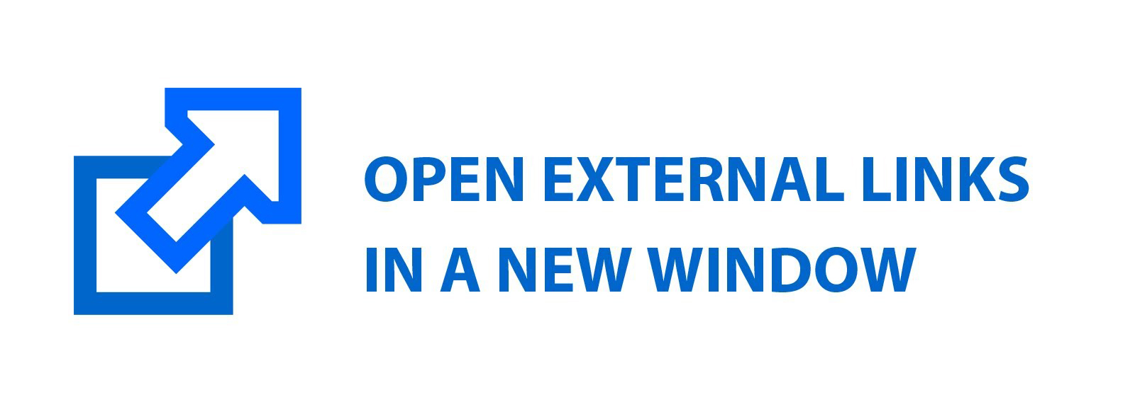 Open External Links in a New Window. Image Source: YouTube