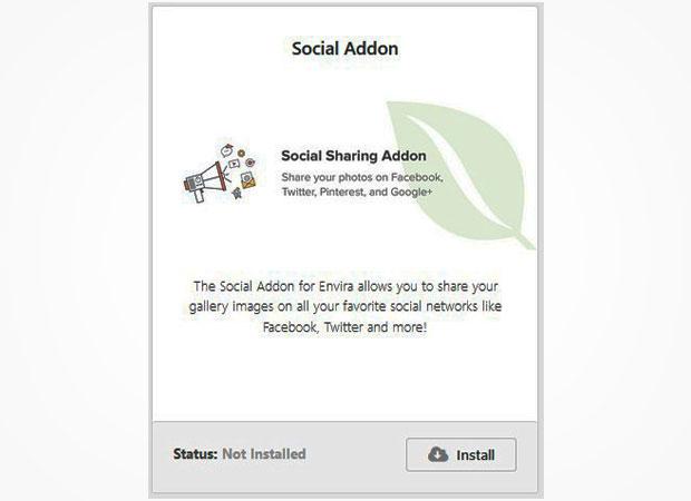 social share addon