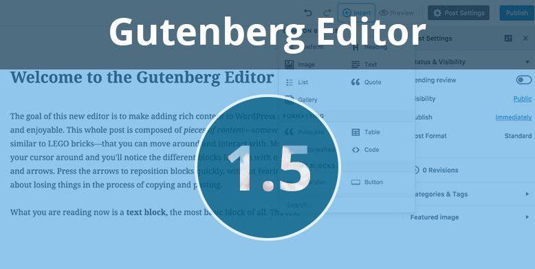 Gutenberg 1.5