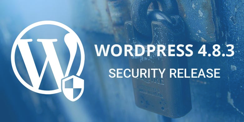 WordPress 4.8.3 Security Release is Now Available for Download!