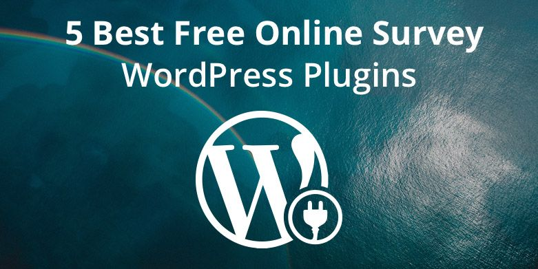 5 Best Free Online Survey WordPress Plugins