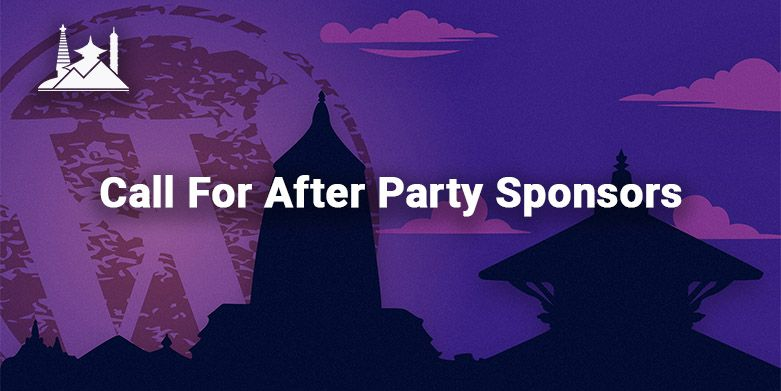 Call For After-Party Sponsors