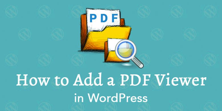 adding a pdf viewer in WordPress using a plugin