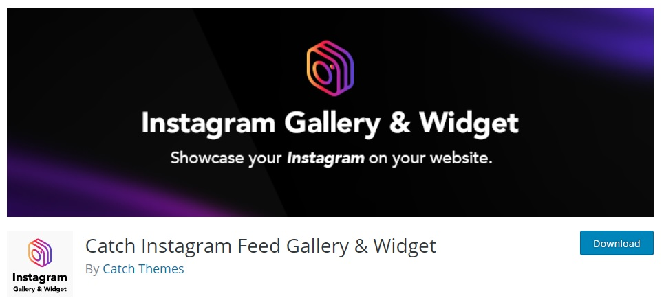 Catch Instagram Feed Gallery and Widget