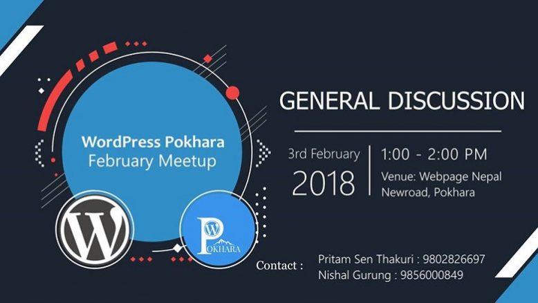 WordPress Pokhara February Meetup 2018