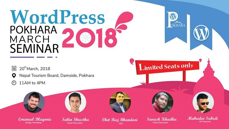 WordPress Pokhara March Seminar 2018
