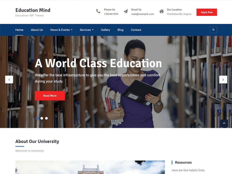 Education Mind. Image Source: WordPress.org