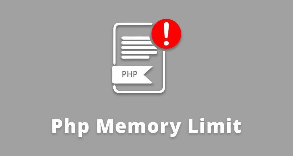 PHP Memory Limit