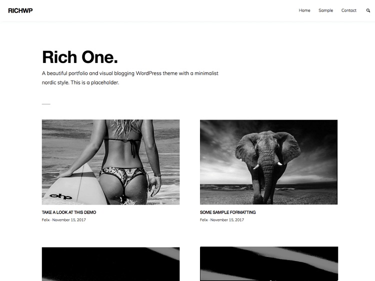 RichOne. Image Source: WordPress.org