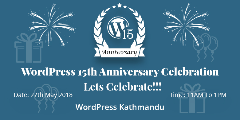 WordPress 15th Anniversary Celebration | WordPress Kathmandu