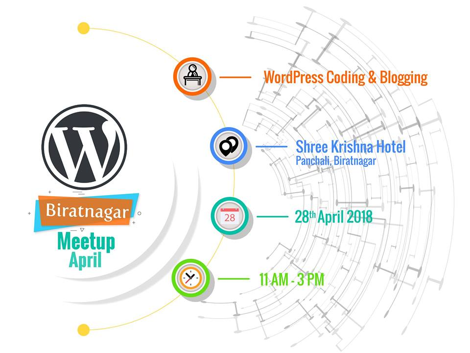Wordpress April meetup 2018