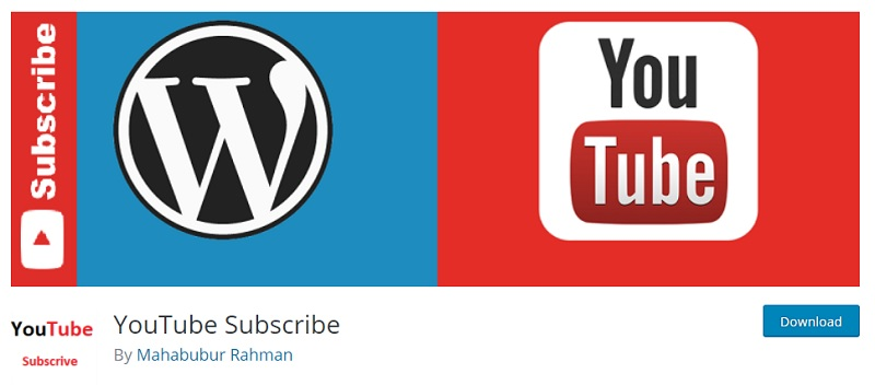 YouTube Subscribe Plugin