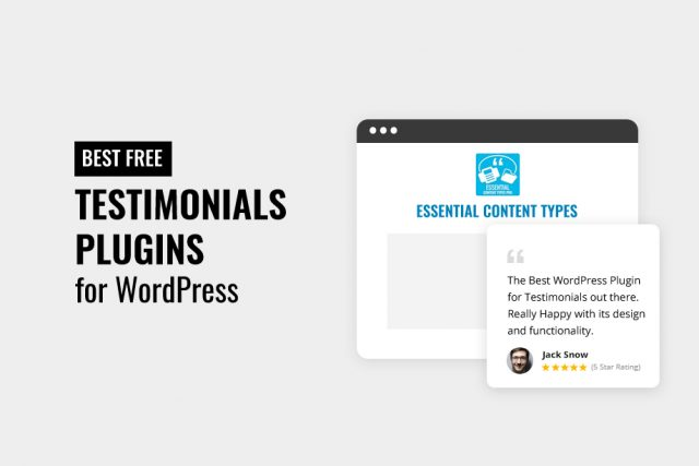 Best Free Testimonials WordPress Plugins 2020