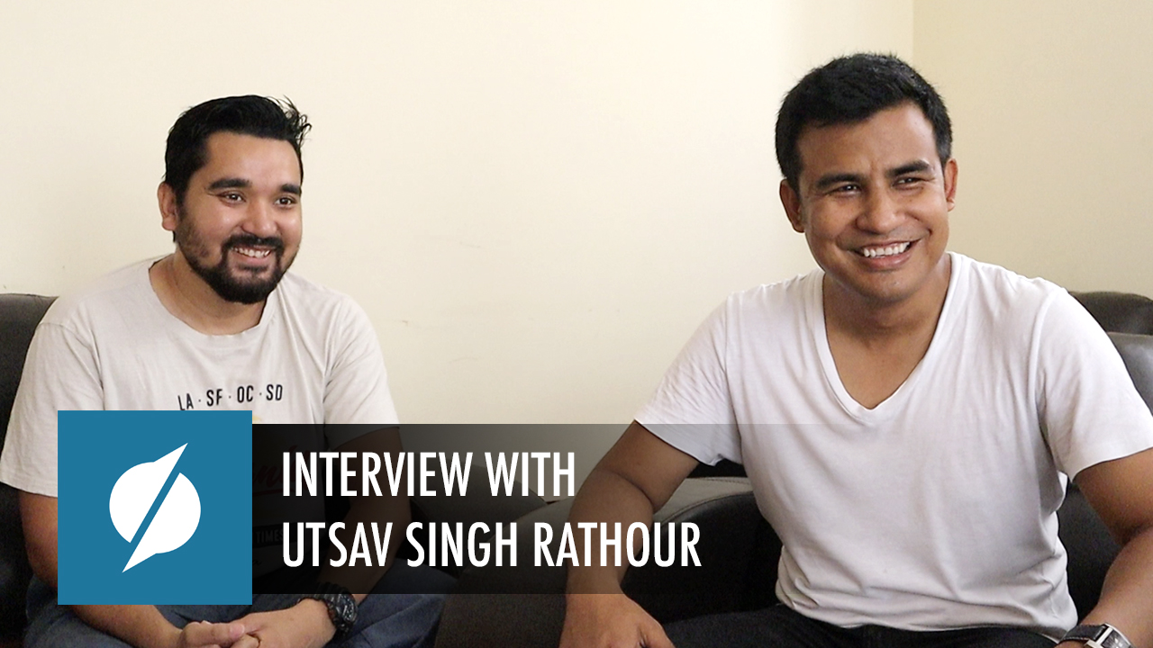 Interview Series: An Interview with Utsav Singh Rathour